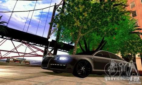 Audi A6 Blackstar для GTA San Andreas салон