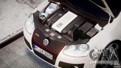 Volkswagen Golf GTI 2006 v1.0 для GTA 4 вид сзади