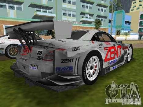 Lexus SC430 GT для GTA Vice City вид сзади слева