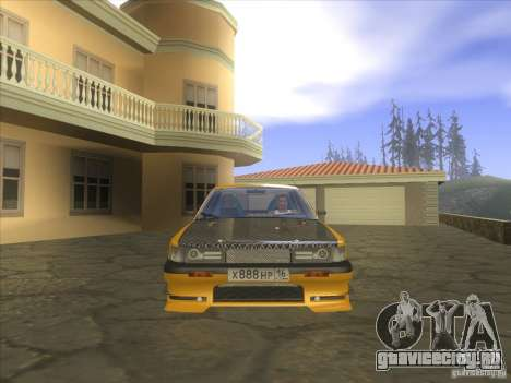 Mazda 626 DRIFT для GTA San Andreas вид сзади