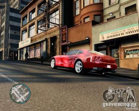 Ferrari 612 Scaglietti для GTA 4 вид справа