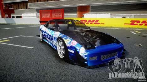 Nissan 240sx Toyo Kawabata для GTA 4 вид изнутри