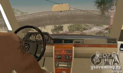 Mercedes-Benz 200D [W124] (1985) для GTA San Andreas вид сзади