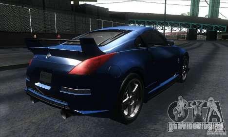 Nissan 350Z Varis для GTA San Andreas вид справа