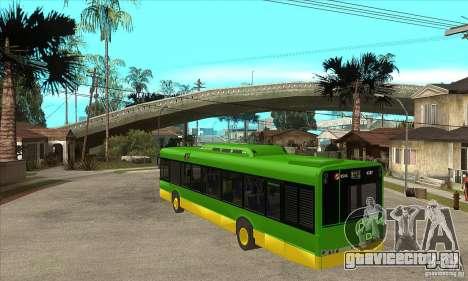 Solaris Urbino 11 для GTA San Andreas вид сзади слева