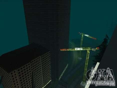 New СITY v1 для GTA San Andreas восьмой скриншот