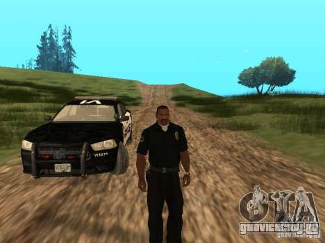 Dodge Charger Canadian Victoria Police 2011 для GTA San Andreas вид сверху