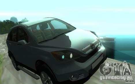 Honda CR-V для GTA San Andreas вид сбоку
