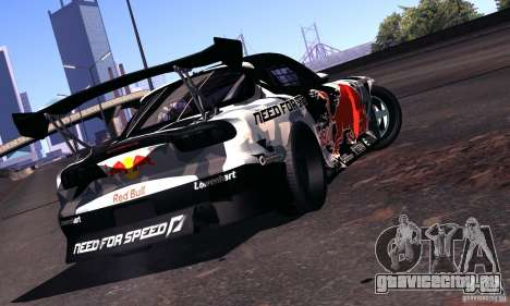 Mazda RX-7 Mad Mike для GTA San Andreas вид справа