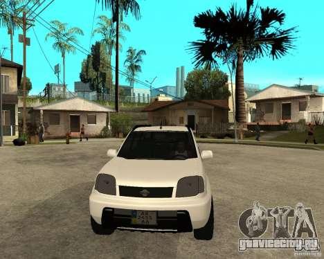 NISSAN X-TRAIL 2001 для GTA San Andreas вид сзади
