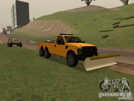Ford Super Duty F-series для GTA San Andreas