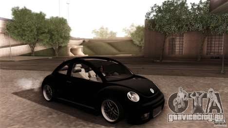Volkswagen Beetle RSi Tuned для GTA San Andreas колёса