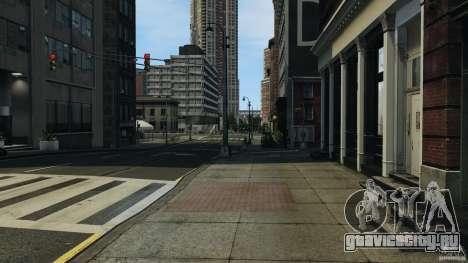 Пустой город для GTA 4 третий скриншот