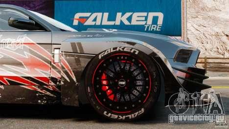 Ford Mustang 2010 GT1 для GTA 4 вид сбоку