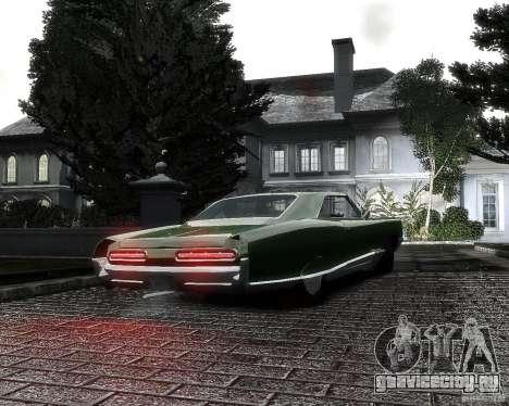 Pontiac Bonneville 1966 для GTA 4 вид сзади слева
