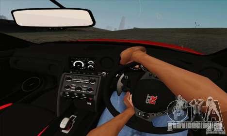 Nissan GT-R R-35 2012 для GTA San Andreas вид сзади