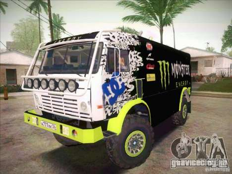 КамАЗ 4911 Мастер Monster Energy для GTA San Andreas