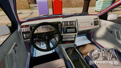 Ford Sierra RS500 Cosworth 1987 для GTA 4 вид сзади