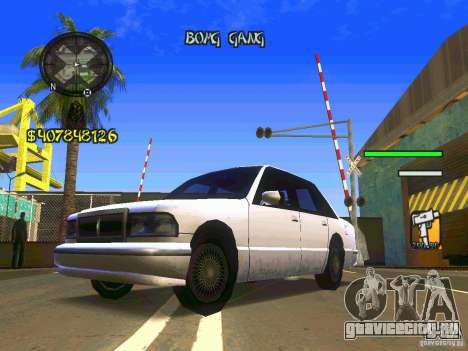 HUD Convenient and easy BETA для GTA San Andreas