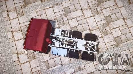 КамАЗ 5410 для GTA 4 вид сбоку