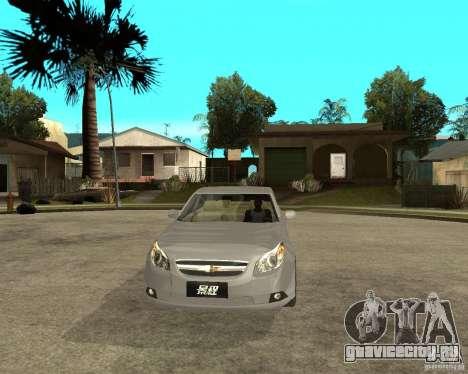 Cheverolet Epica для GTA San Andreas вид сзади