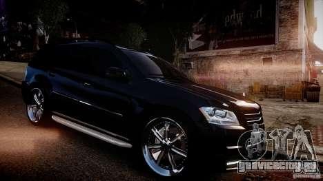 Mercedes-Benz GL450 Brabus Black Edition для GTA 4 вид сзади