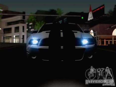 New Car Lights Effect для GTA San Andreas шестой скриншот