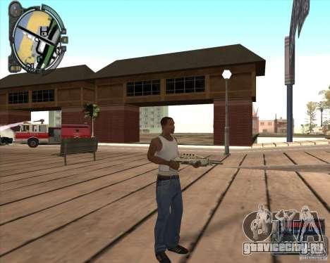 S.T.A.L.K.E.R. Call of Pripyat HUD for SA v1.0 для GTA San Andreas девятый скриншот