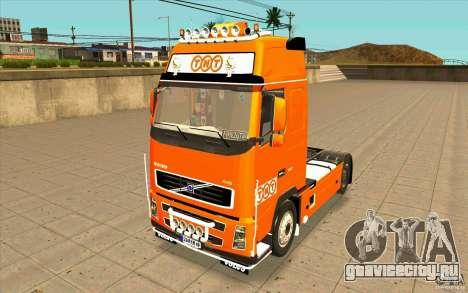Volvo FH16 Globetrotter TNT для GTA San Andreas