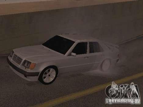 Mercedes-Benz E500 Taxi 1 для GTA San Andreas вид слева