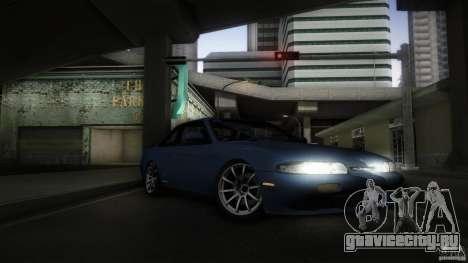 Nissan Silvia S14 Zenk для GTA San Andreas вид изнутри