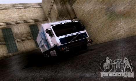Volvo F10 для GTA San Andreas вид сбоку