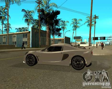 Lotus Exige для GTA San Andreas вид слева