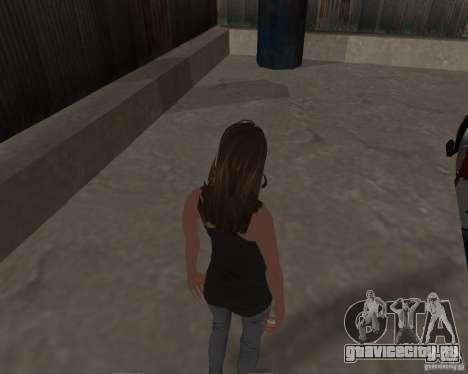 Tony Hawks Emily для GTA San Andreas пятый скриншот
