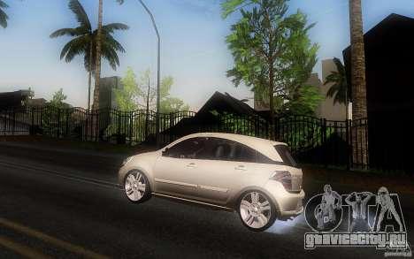 Chevrolet Agile 2012 для GTA San Andreas вид слева