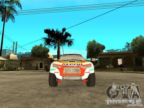 Mitsubishi Racing Lancer from DIRT 2 для GTA San Andreas