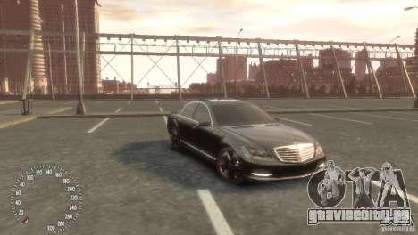 Mercedes-Benz S350 VIP для GTA 4 вид слева