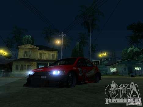 Mitsubishi Lancer Evo9 Wide Body 2 для GTA San Andreas