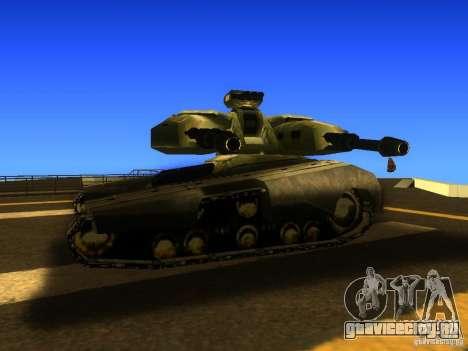 Star Wars Tank v1 для GTA San Andreas вид сзади слева