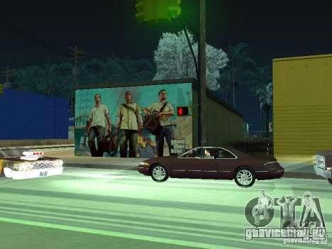 Плакат GTA V для GTA San Andreas четвёртый скриншот