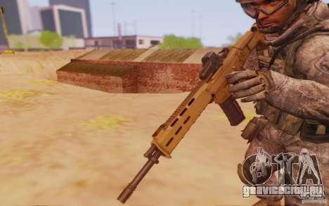 ACR с голографическим прицелом для GTA San Andreas второй скриншот