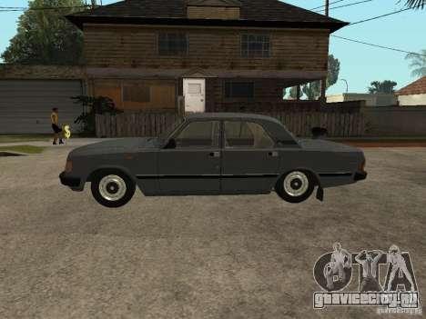 ГАЗ 31029 для GTA San Andreas вид сзади слева