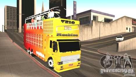 Scania 93H 6x2 Trio Eletrico для GTA San Andreas