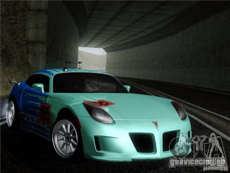 Pontiac Solstice Falken Tire для GTA San Andreas