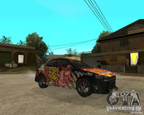 Mitsubishi Lancer EVO для GTA San Andreas