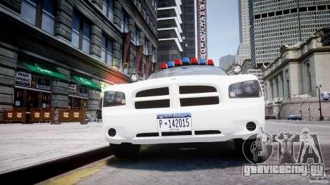 Dodge Charger FBI Police для GTA 4 вид снизу