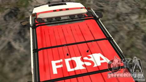 HUMMER H2 Amulance для GTA San Andreas вид справа