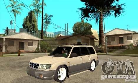 Subaru Forester 1997 года для GTA San Andreas