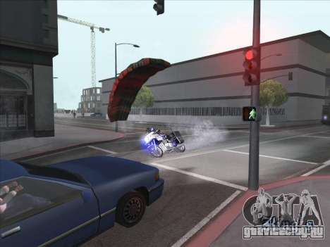 Парашют для байкa для GTA San Andreas второй скриншот