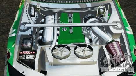 Nissan Silvia KeiOffice для GTA 4 вид изнутри